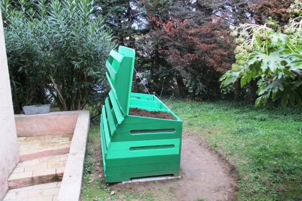 Composteur pour jardin privé – Mougins (06)